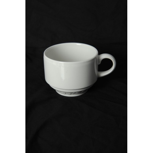 Buckingham White Tea Cup