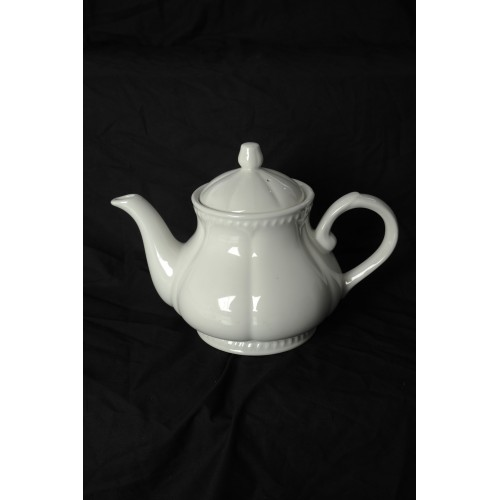 Buckingham White Tea Pot