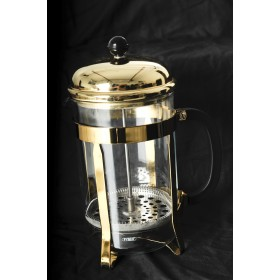 12 cup - Gold Cafetiere